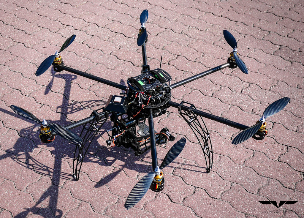 Sales, development and service of drones   Jamcopters